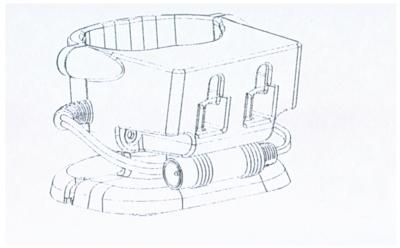 Base de carga para las lámparas portátiles
