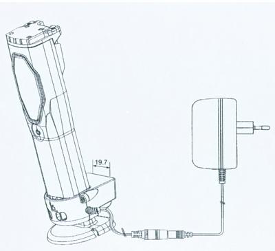 Adaptador para linternas LED